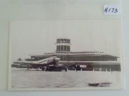 Vintage Old Reproduction Postcard - Singapore Kallang Airport (#173) - Singapore