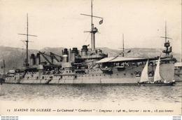 MARINE DE GUERRE  Cuirassé  CONDORCET - Krieg