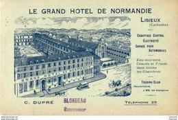 D14   LISIEUX  Le Grand Hôtel De Normandie   ................ - Lisieux