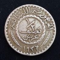 Lebanon, ½ Piastres 1936  , Perfect , Agouz - Libanon