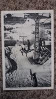 CPA VALBERG 06 L ARRIVEE DU REMONTE PENTE 1800 M SKIEUR ANIMATION ED LA CIGOGNE 1948 - Sonstige Gemeinden