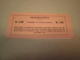 Norwegen 1962 Markenheftchen MH 474 Postfrisch MNH 5 Kr Booklet Norge - Markenheftchen