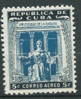 Cuba - Aérien    -  Yvert N° 72  *   Ad39408 - Poste Aérienne