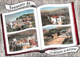 Souvenir De ... La BEGUDE-de-MAZENC - Vues Multiples - Livre Ouvert - Frankrijk