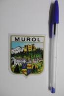 Autocollant Stickers - Blason Ville MUROL écusson Adhésif 63 PUY-de-DÔME - Stickers