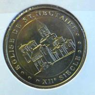EGLISE SAINT NECTAIRE XIIE SIECLE MONNAIE DE PARIS 2004 JETON TOURISTIQUE TOKEN - Monnaie De Paris