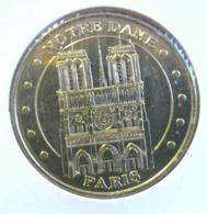 NOTRE DAME DE PARIS ET SA FLECHE MONNAIE DE PARIS 2014 JETON TOURISTIQUE TOKEN - 2014