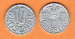 AUSTRIA  10 GROSCHEN 1961 (KM # 2878) #5459 - Austria