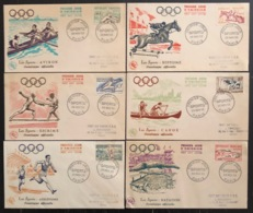 France - FDC - Premier Jour - JO - Jeux Olympique - 1953 - 1950-1959