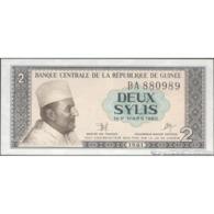 TWN - GUINEA 21a - 2 Sylis 1981 Prefix BA UNC - Guinea