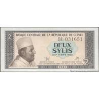 TWN - GUINEA 21a - 2 Sylis 1981 Prefix BL UNC - Guinea