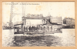 CPA Rouen, La Nacelle Du Pont Transbordeur. - Rouen