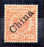 Sello De Oficina Postal De China Nº Michel 5I (*) - Oficina: China