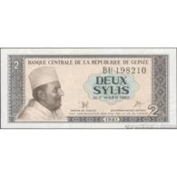 TWN - GUINEA 21a - 2 Sylis 1981 Prefix BU UNC - Guinea