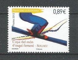 ANDORRE ANNEE 2012 N°719 NEUF ** - Andorra Francese