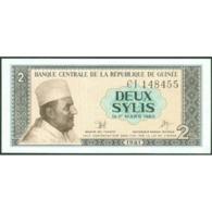 TWN - GUINEA 21a - 2 Sylis 1981 Prefix CI UNC - Guinea