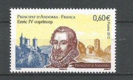 ANDORRE ANNEE 2012 N°732 NEUF ** - Andorra Francese