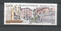 ANDORRE ANNEE 2012 N°725 NEUF ** - Andorra Francese