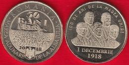 "Romania 50 Bani 2018 ""Great Union"" UNC - Rumänien"