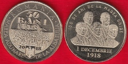 "Romania 50 Bani 2018 ""Great Union"" UNC - Roumanie"