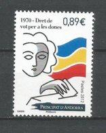 ANDORRE ANNEE 2012 N°739 NEUF ** - Andorra Francese
