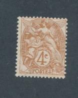 FRANCE - N°YT 110 NEUF* AVEC CHARNIERE - COTE YT : 3€ - 1900/24 - 1900-29 Blanc