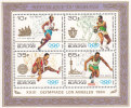 Burundi BL 0119**  Jeux Olympiques Los Angeles  MNH - 1980-89: Neufs