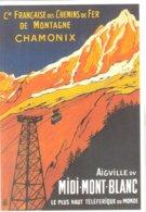 CPM DE CHAMONIX AIGUILLE DU MIDI - Chamonix-Mont-Blanc