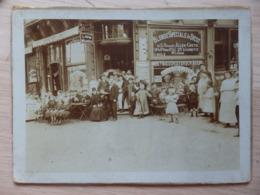 Liège - Photo Sur Carton - Café/Cafetier: J. Jacob Mélaerts, Rue Du Palais, 2 - Blonde Spéciale De Diest - Voir 2 Scans. - Liège