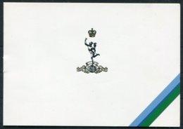 GB Military, British Army Christmas Cards X 17 - Sonstige