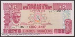 TWN - GUINEA 29a - 50 Francs 1985 Prefix AJ UNC - Guinea