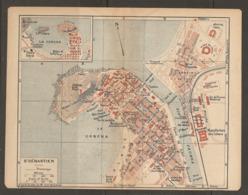 CARTE PLAN 1921 - St SÉBASTIEN LE CONCHA RIO URUMEA MANUFACTURE De TABACS KURSAAL En CONSTRUCTION FOOTBALL - Topographical Maps