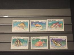 VIETNAM - 1995 PESCI 6  VALORI - NUOVI(++) - Vietnam