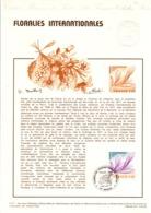 ZNL DOCUMENT FDC 1977 FLORALIES NANTES - Documents De La Poste
