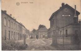 Okegem - Statie En Omgeving - Uitg. Van Der Speeten A./Albert - Gares - Sans Trains