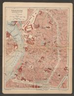 CARTE PLAN 1921 - TOULOUSE MANUFACTURE De TABAC CASERNE CLAUZET Anc. CASERNE De La MISSION - Topographical Maps