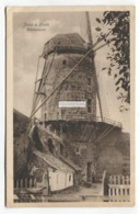 Zons A. Rhein - Muhlenturm, Windmill - Old Germany Postcard - Dormagen