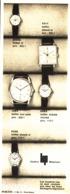 """PUB MONTRES  """" LIP """"   1964 ( 8 ) - Bijoux & Horlogerie"""