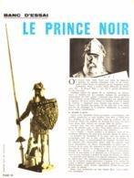 """PUB-TEST  FIGURINE  """" LE PRINCE NOIR   """" ARFIX """"  1966  ( 1 ) - Other"""