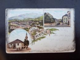 Bosnien Bosnia Bosna Litho Trebinje 1901. - Bosnië En Herzegovina
