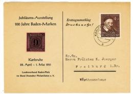 Nr. 143 EF Aus Karlsruhe - Michel 35 € - BRD