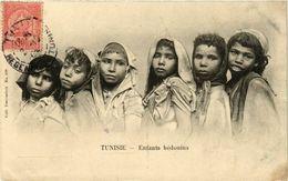 CPA Enfants Bedouines TUNISIE (822923) - Tunesien