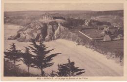 MORGAT - La Plage Et Les Villas - TBE - Morgat