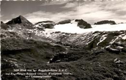Blick Von Der Ruckhubelhütte Auf Engelberger Rotstock (3628) * 27. 8. 1962 - OW Obwalden