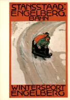 Stansstaad-Engelberg-Bahn - Wintersport Engelberg  - Plakat 1918 (1035) - OW Obwalden