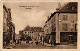 CPA AK SAARGEMUND - Lothringen - Marktplatz (388035) - Sarreguemines