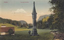 BEZAU Im Bregenzerwald. Bezegg-Denkmal. K.u.k.Militärzensur Bregenz, 1915 - Bregenzerwaldorte