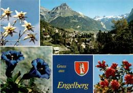 Gruss Aus Engelberg - 4 Bilder (1893) - OW Obwalden