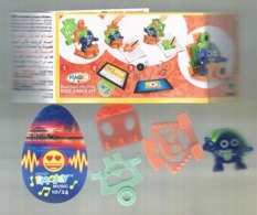 (516) Kinder EMOJI - EN 621 + BPZ - Montables
