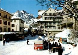 Engelberg - Dorfpartie (5691) * 17. 3. 1975 - OW Obwalden